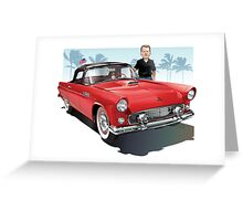 Marty's T Bird Greeting Card