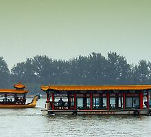 Beijing: Summer Palace Lake Outing by Kasia-D