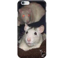 Happy rat iPhone Case/Skin