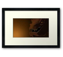 My Teeth Are Swords Framed Print