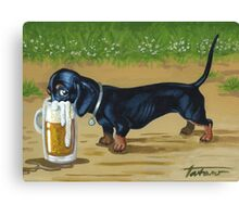 For Doxies lovers Canvas Print