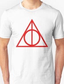 Deathly Hallows red T-Shirt