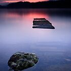 Loch Ard Dawn by David Queenan