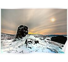 The Top of Caer Caradoc Poster