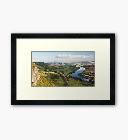 Perthshire View Framed Print