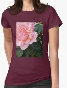 hozier - rose theme Womens Fitted T-Shirt