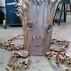 Cardboard Tree Monster! by ellemoses28