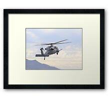 Pave Hawk Helicopter Framed Print