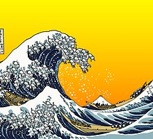 The Great Wave Off Katagawa - Yell by Tigerpig