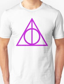 Deathly Hallows purple T-Shirt