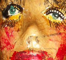 paper face by Thelma Van Rensburg