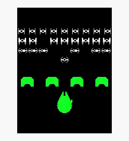 Star Invaders Photographic Print