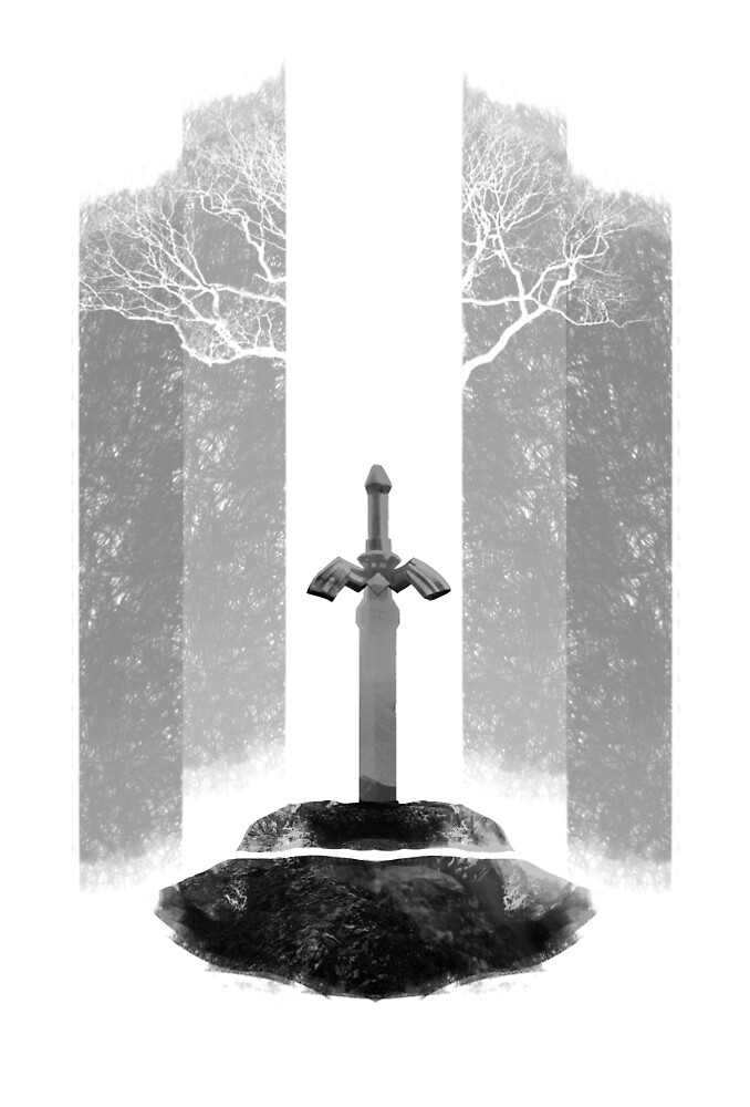 Master Sword by Bendragon