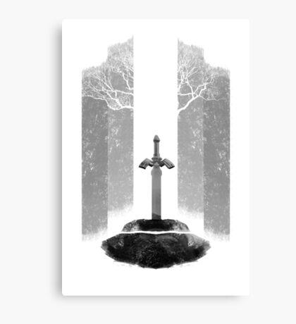 Master Sword Canvas Print