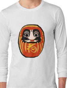 Daruma Doll Long Sleeve T-Shirt