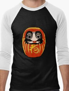 Daruma Doll Men's Baseball ¾ T-Shirt