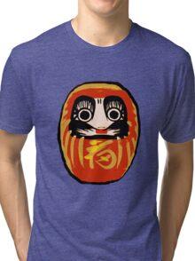 Daruma Doll Tri-blend T-Shirt