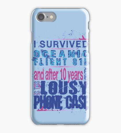 I survived Flight 815 iPhone Case/Skin