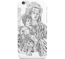 Celtic Madonna iPhone Case/Skin