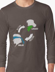 Metal States (light) Long Sleeve T-Shirt