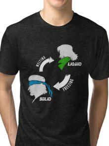 Metal States (light) Tri-blend T-Shirt