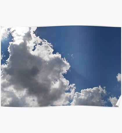 Light Shining Through the Heavens Poster