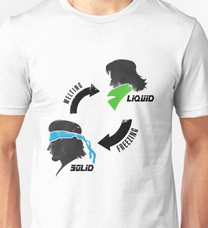 Metal States (dark) Unisex T-Shirt