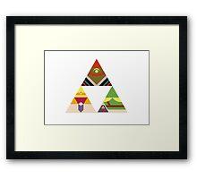 Legend of the Tri Framed Print