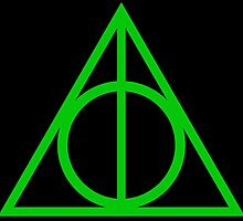 Deathly Hallows green by rachelshade