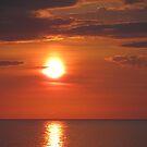 Virginia Beach Sunrise by Jennie L. Richards