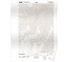 USGS Topo Map Oregon Clear Lake Ridge 20110627 TM Poster