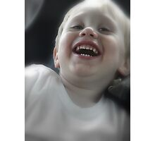 Mommy your so funny Photographic Print