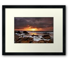 Lucky Break  - Little Bay NSW Framed Print