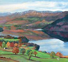 Scottish Loch by HandsonHart