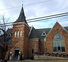 Parker Memorial Baptist Church by Charldia