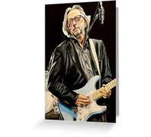 Eric Clapton Greeting Card