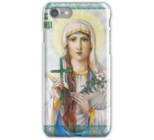 Natalia the Martyr iPhone Case/Skin