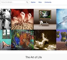 Breaking the Boundaries - 13 January 2011 by The RedBubble Homepage