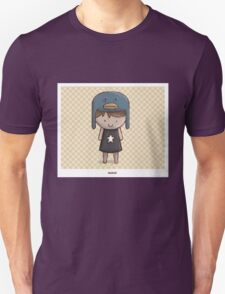 Emo Kawaii Girl Unisex T-Shirt