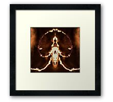 Fire Beast Framed Print
