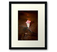 Danbo Framed Print