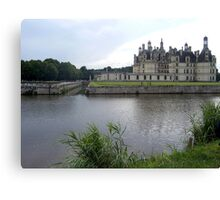 Chambord in the Rain Canvas Print