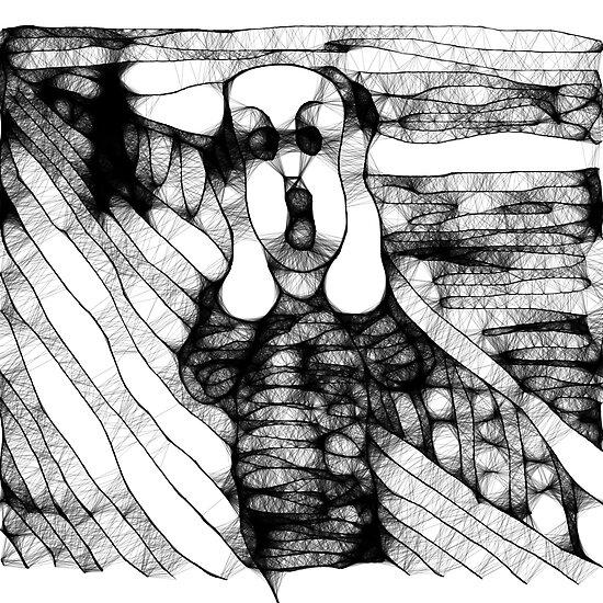 The Scream (Scribbler) by Anni Morris