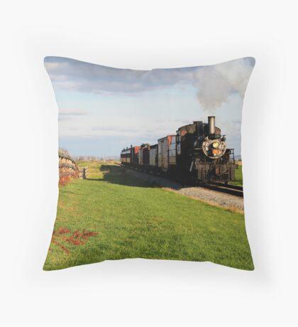 Strasburg Rail Throw Pillow
