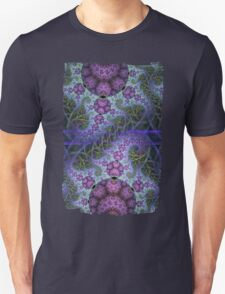 Mobius dragons and other patterns, fractal abstract artwork Unisex T-Shirt