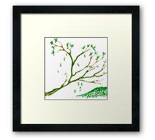 Branching off Framed Print