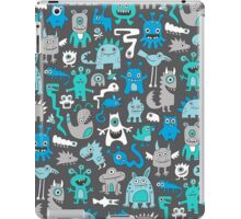 Monsters in Blue iPad Case/Skin
