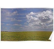 Yorke Peninsula Field & Sky Poster