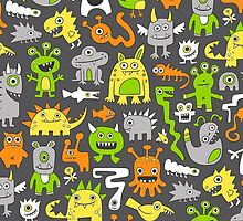 Monsters  by CajaDesign