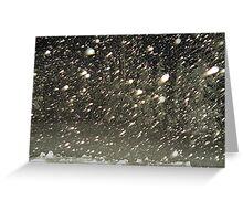 'SnowSwarm' Greeting Card